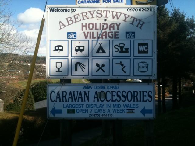 Aberystwyth Motorhome and Caravan Park