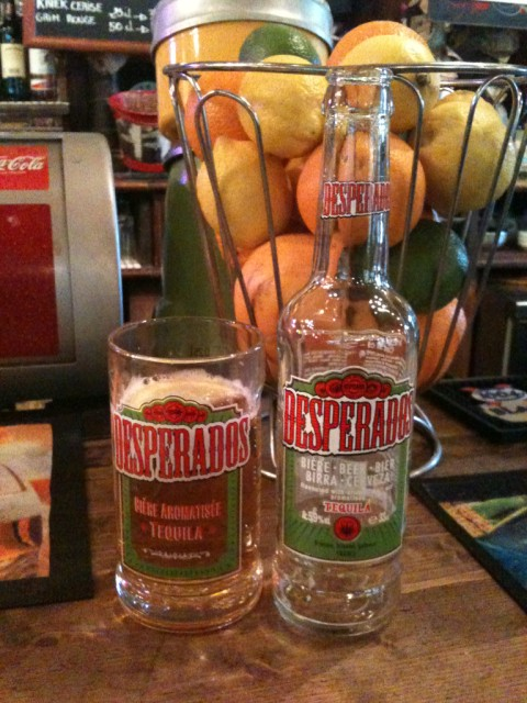 Desperados beer in Avignon